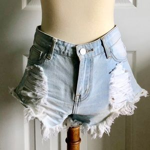 American Bazi denim shorts